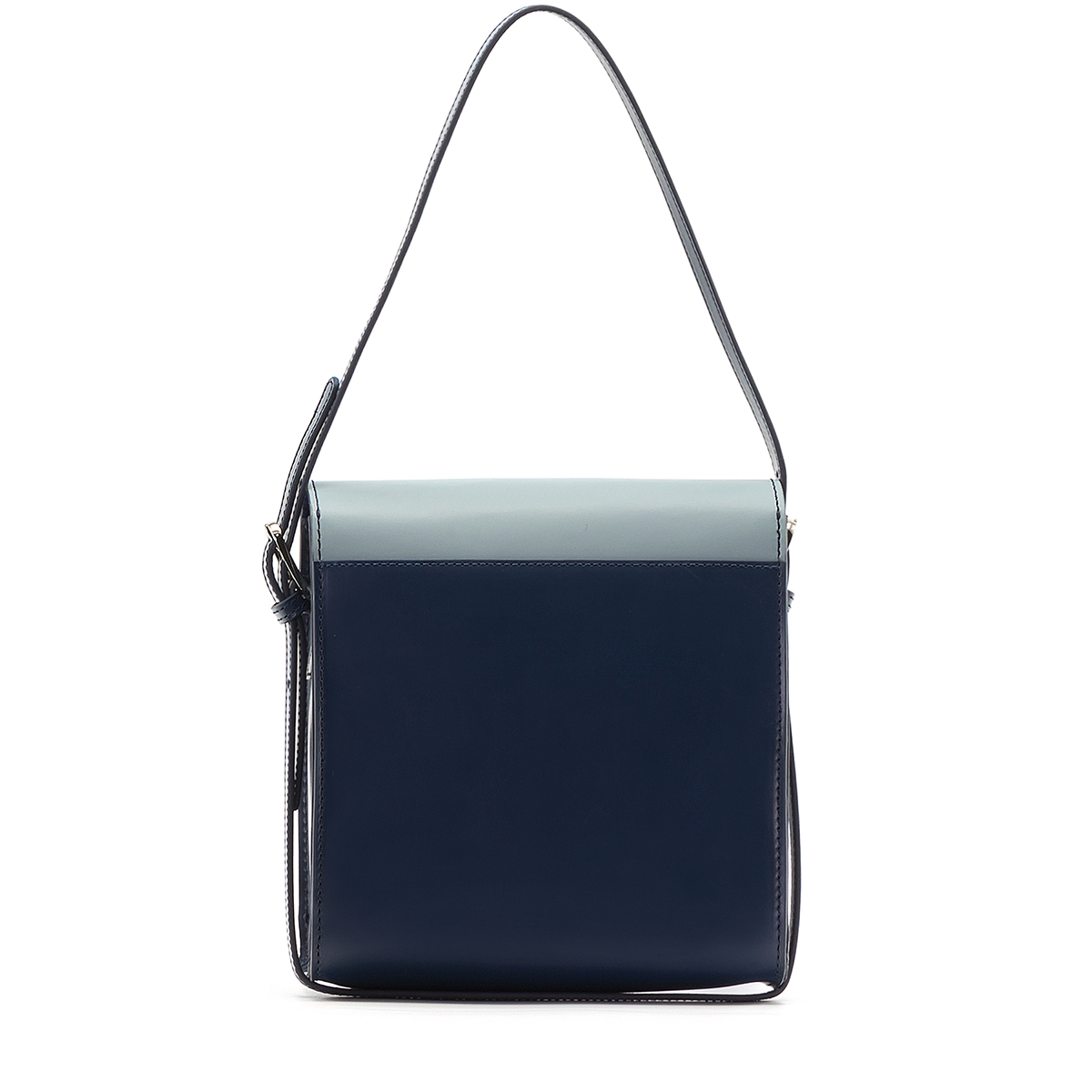 A.Cloud Double Color Square Cross Bag