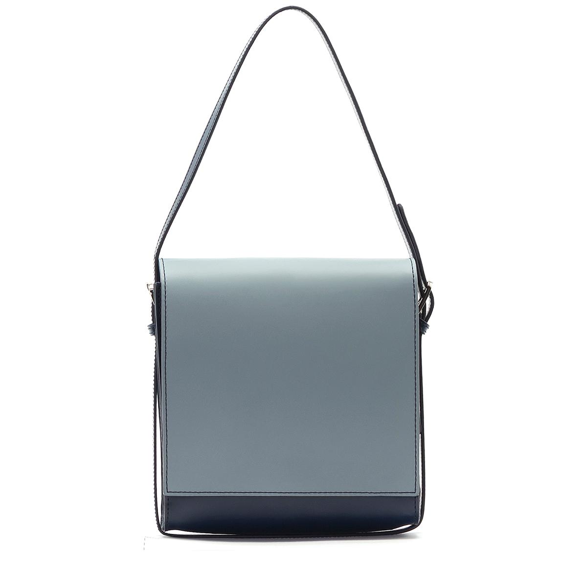 A.Cloud Double Color Square Cross Bag