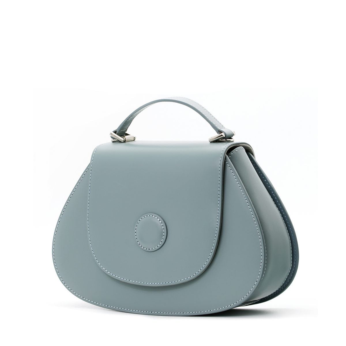 A.Cloud Balance Circle Dot Top Handle Bag